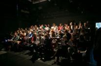 07/05/2014 Tilbury izvodi Becketta @ polukružna dvorana Teatra &TD