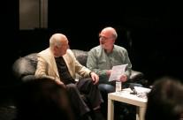 07/05/2014  Artist talk: John Tilbury, razgovor vodi Nikša Gligo @ polukružna dvorana Teatra &TD
