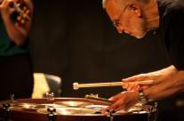 26/04/2013  Jennifer Allum violin, Marjolaine Charbin piano, Eddie Prevost percussion @ Polukružna dvorana &TD-a