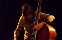 """27/04/2013 Cene Resnik Trio: """"Beams of Spontaneity"""" (tenor saksofon Cene Resnik, kontrabas Jošt Drašler, bubnjevi Peter Šuklar) @ MM centar"""