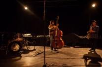 """27/04/2013 Cene Resnik Trio: """"Beams of Spontaneity"""" (tenor saksofon 27/04/2013  Cene Resnik, kontrabas Jošt Drašler, bubnjevi Peter Šuklar) @ MM centar"""