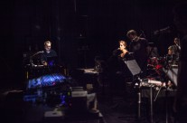 Experimental ensemble, photo by Kristijan Smok