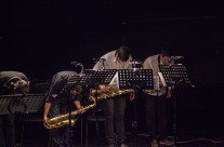 UMAS and AUNS Students' Saxophone Concert, photo by Kristijan Smok